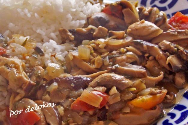 Curry de setas
