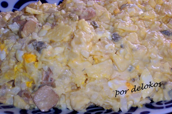 Kartoffelsalat ensalada alemana de patata delokos - Ensalada alemana de patatas ...
