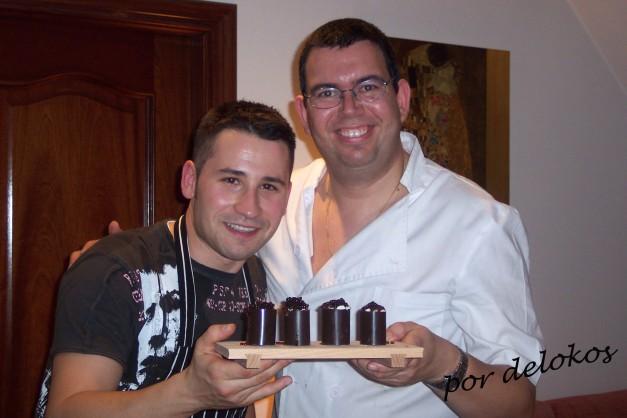 Javi Oubiña (izquierda) y delokos (derecha)