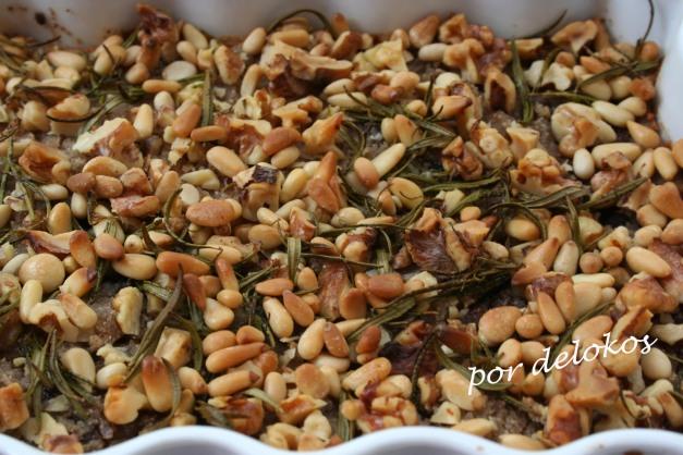 Castagnaccio con castañas pilongas
