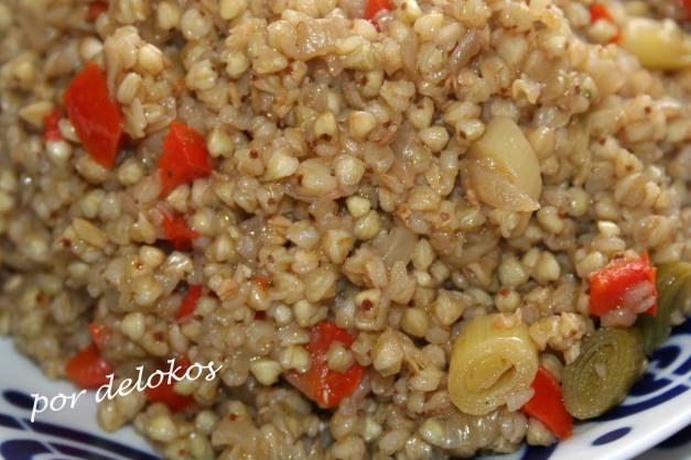 Trigo sarraceno con verduras