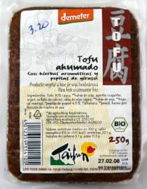Tofu ahumado, de Taifun