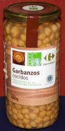 Garbanzos cocidos, de Carrefour Eco