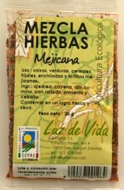 Mezcla hierbas mejicana, de Luz de Vida