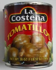 Tomatillos mexicanos, de La Costeña