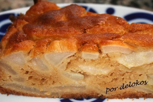 Tortilla de manzana sin azúcar