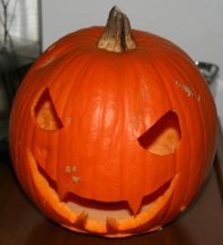 Calabaza de Halloween 2009