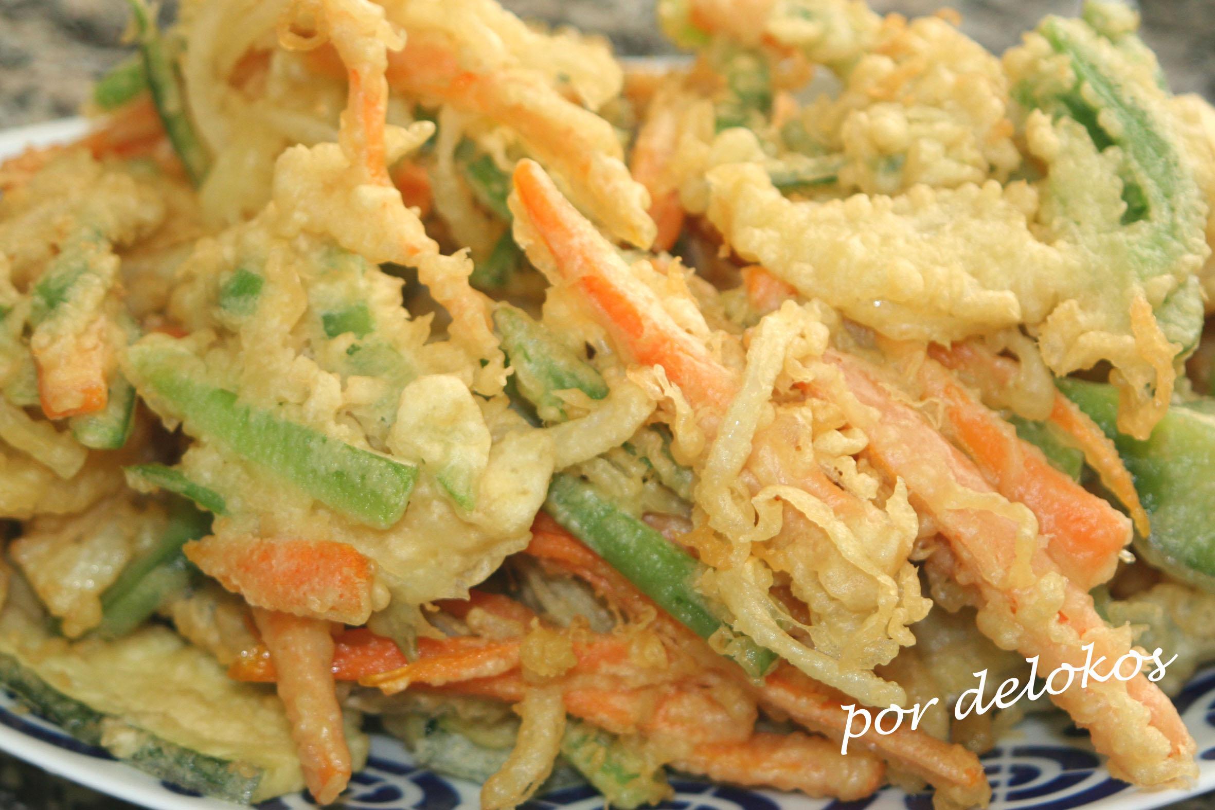 tempura de verduras delokos