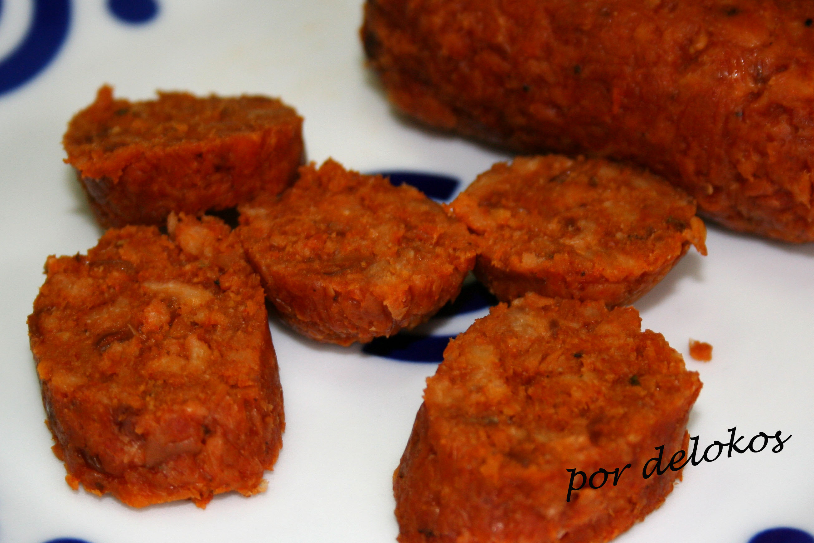 Chorizo Vegetariano Delokos
