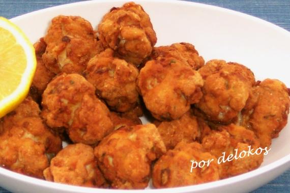 Albóndigas de pollo con pistachos