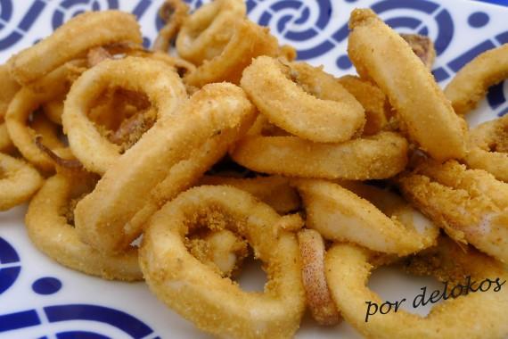 Calamares fritos, por delokos