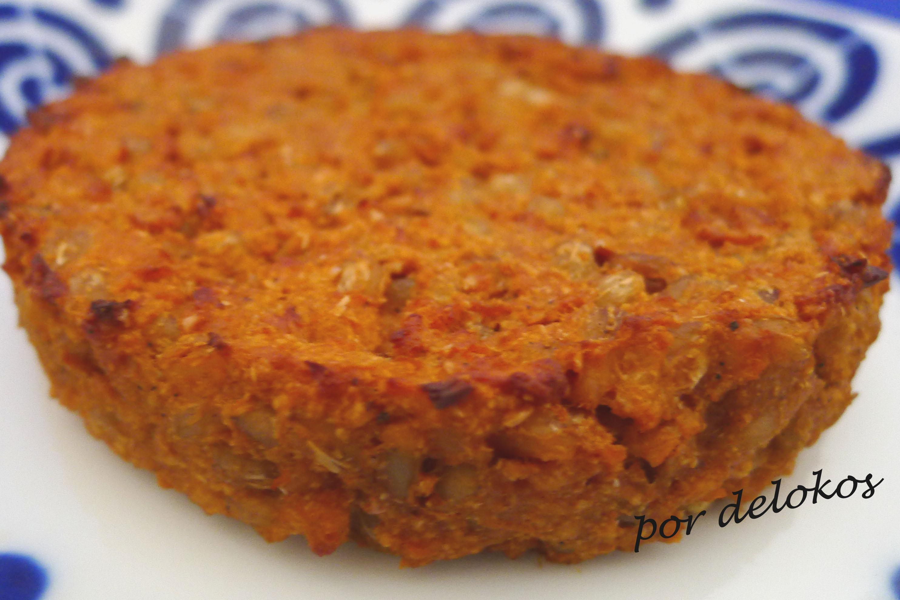 Hamburguesa vegetariana de cebada y soja delokos - Hamburguesas vegetarianas caseras ...
