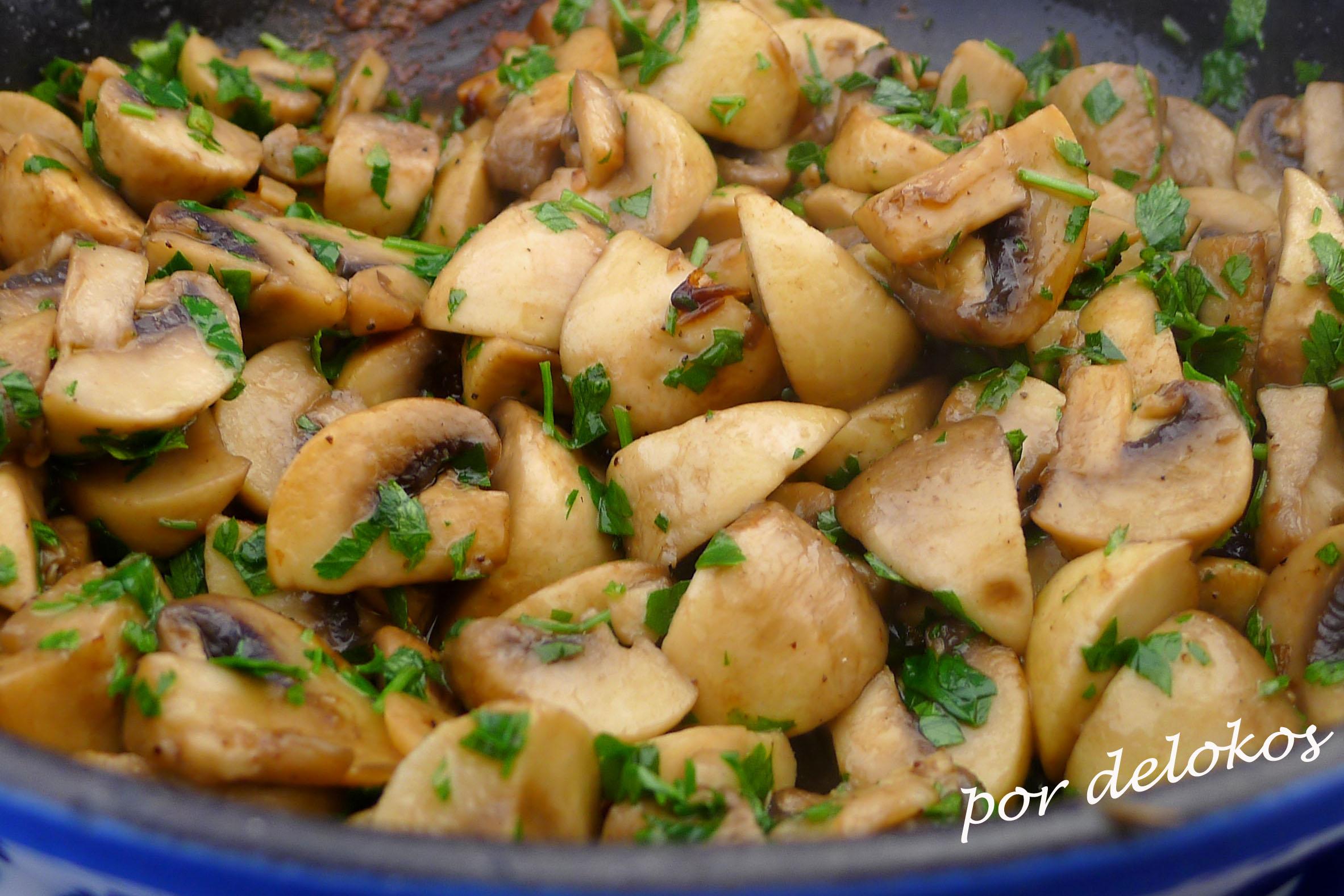 Bonito como cocinar champi ones frescos im genes for Cocinar guisantes frescos