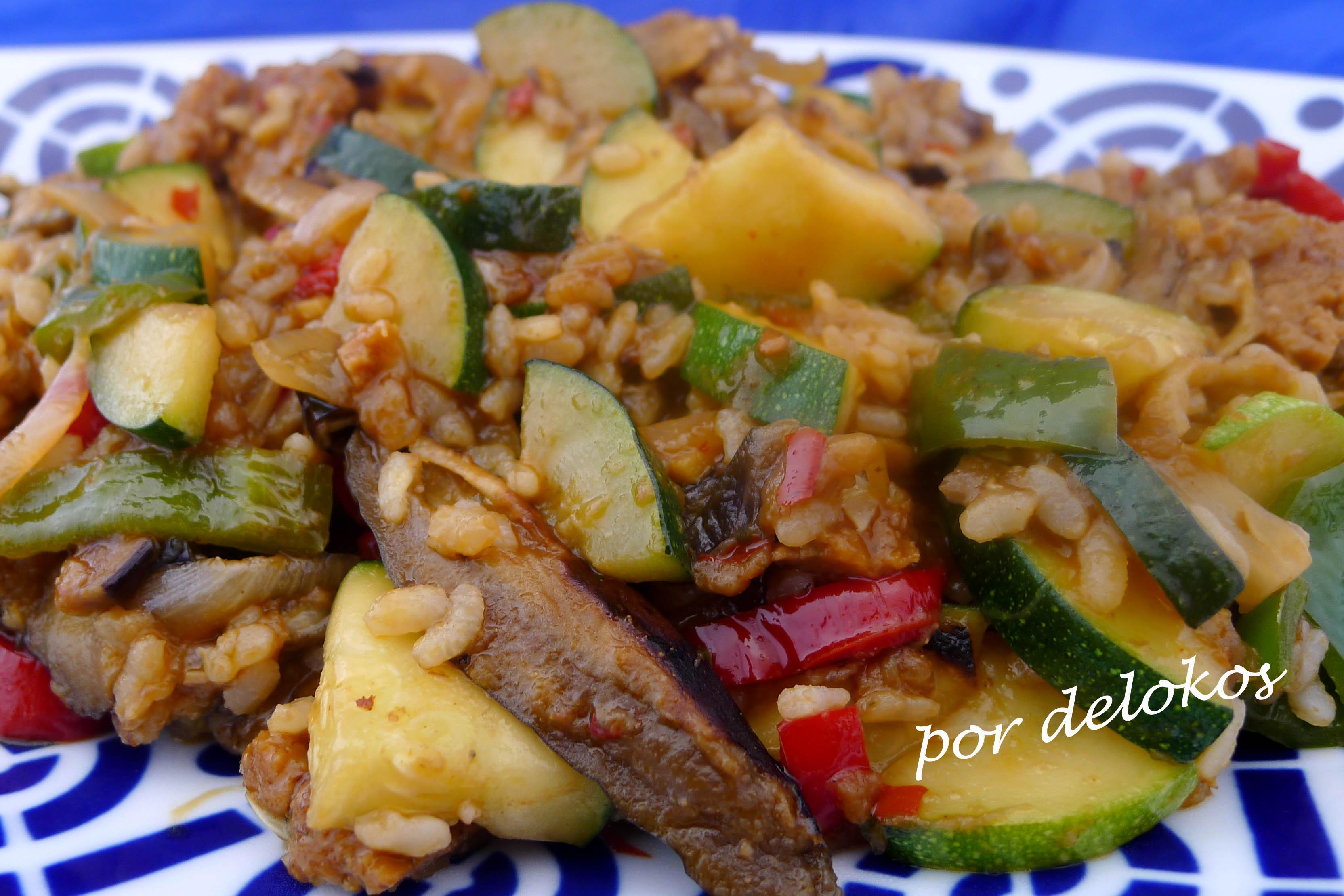 Recetas seitan con verduras