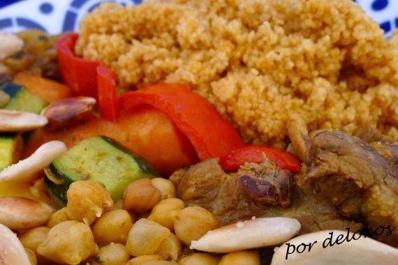 Cuscús de cordero y verduras, por delokos