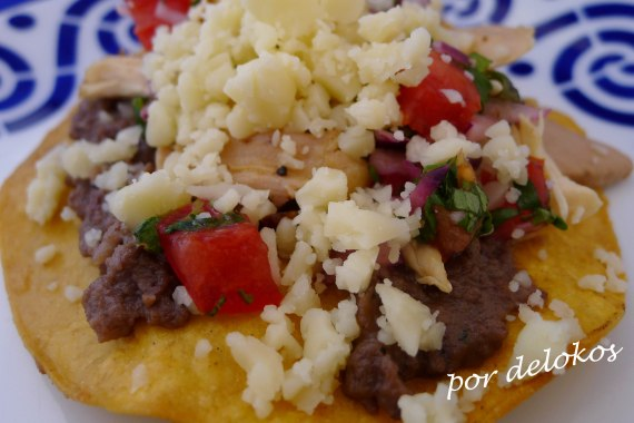 Tostadas mexicanas, por delokos
