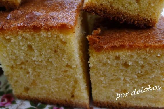 Pound cake de nata, por delokos