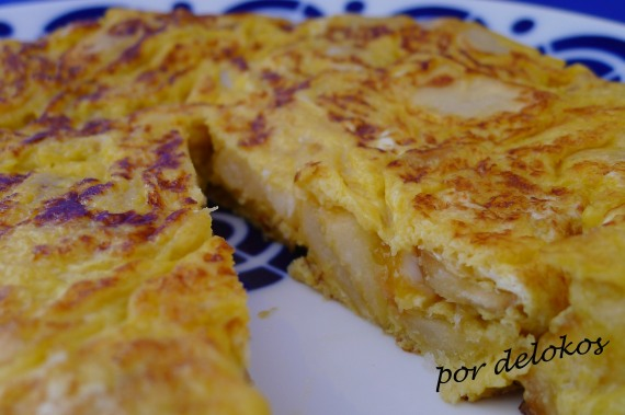 Tortilla española, por delokos