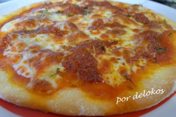 Pizza de sobrasada, por delokos