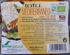 Tofu mediterráneo, de Soria Natural