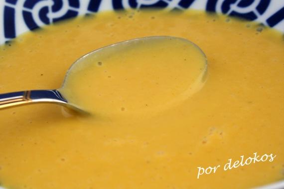 Crema de verduras con tortillas mexicanas, por delokos