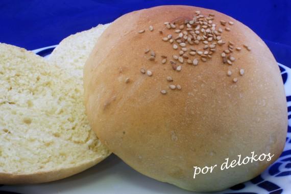 Pan rápido para hamburguesa, por delokos