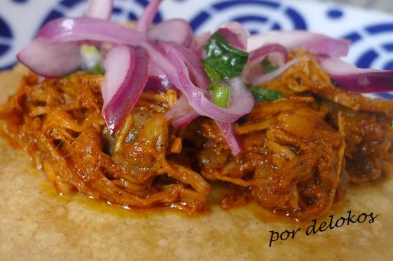 Tacos de cochinita pibil, por delokos