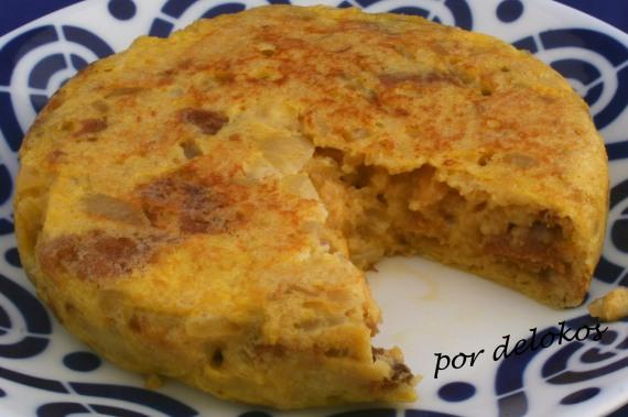 Tortilla española de pan, por delokos