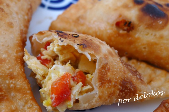 Empanadillas de pollo, por delokos