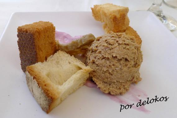 Paté de seitán con veganesa copia