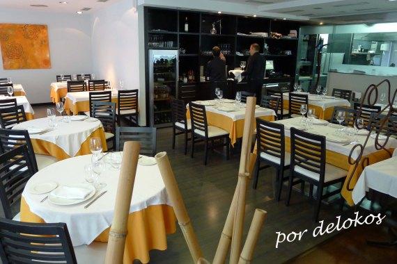 Restaurante Sabino: vista de la sala