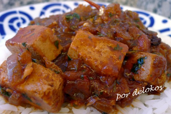 Sambal de tofu, por delokos