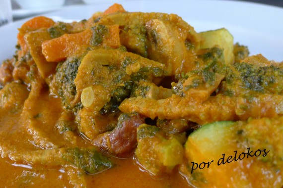 Curry de seitán, setas, verduras y anacardos, , Essência Restaurante Vegetariano, Oporto