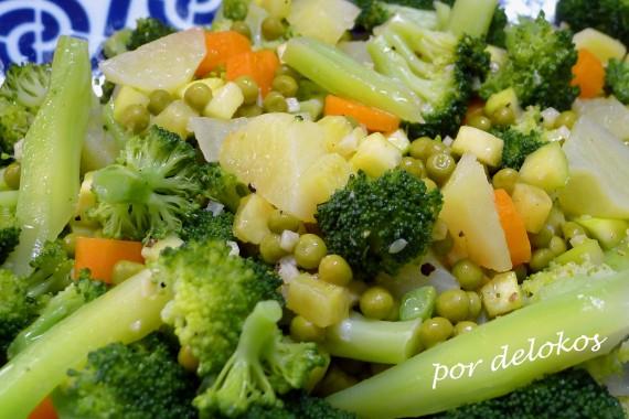 Panaché de verduras, por delokos