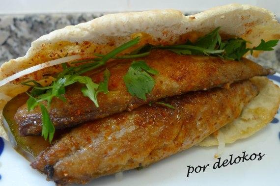 Balik Ekmek - Kebab de caballa asada