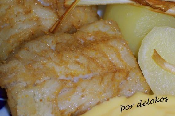 Bacalao fresco con salsa holandesa, por delokos