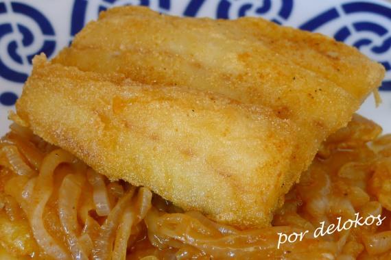 Bacalao frito al romero, por delokos