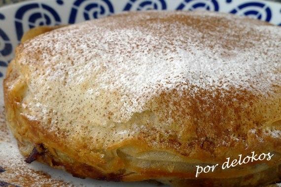 Pastela de pollo entera - Pastilla de pollo entera, por delokos