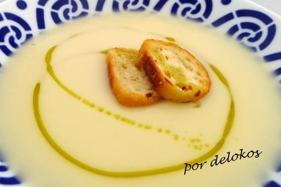 Crema de chirivías y patatas, por delokos